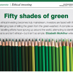 Fifty shades of green